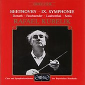 Beethoven: Symphony no 9 / Kubelik, Bavarian RSO & Chorus