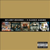 Various Artists: No Limit Records: 5 Classic Albums [Box] [PA]