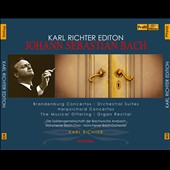 Karl Richter Edition - J.S. Bach: Brandenburg Concertos; Orchestral Suites; Musical Offering; Harpsichord & organ works / Munich Bach Orch. & Choir [6 CDs]