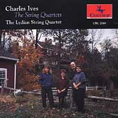 Ives: The String Quartets / Lydian Quartet