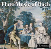 Bach and his Contemporaries: Flute Music / Christopher Hyde-Smith, flute; Jane Dodd, harpsichord; Susan Dorey, cello