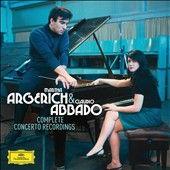 Martha Argerich & Claudio Abbado: Complete Concerto Recordings  - works by Prokofiev, Ravel, Chopin, Liszt, Tchaikovsky, Beethoven, Mozart