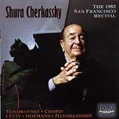 Shura Cherkassky - 1982 San Francisco Recital -Chopin, et al