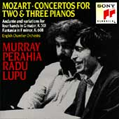 Mozart: Concertos for Two & Three Pianos / Perahia, Lupu