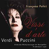 Vissi d'arte - Verdi, Puccini / Fran&#231;oise Pollet