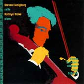 American Music for Cello / Steven Honigberg, Kathryn Brake