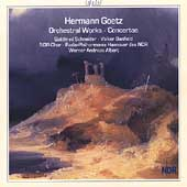 Goetz: Orchestral Works, Concertos /Albert, Schneider, et al