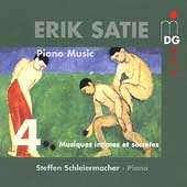 SCENE  Satie: Piano Music Vol 4 / Steffen Schleiermacher
