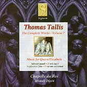 Tallis - Complete Works Vol 7 / Dixon, et al