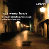 Henze: Boulevard Solitude, etc