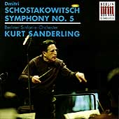Schostakowitsch: Symphony no 5 / Sanderling, Berlin SO