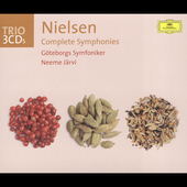 Trio - Nielsen: Complete Symphonies / Järvi, Gothenburg SO