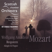 Mozart: Requiem; Adagio & Fugue / Susan Gritton, Catherine Wyn-Rogers, Timothy Robinson, Peter Rose. Mackerras
