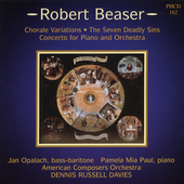 Beaser: The Seven Deadly Sins, Chorale Variations, Concerto