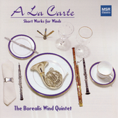 Short Works for Winds - Rota, et al / Borealis WInd Quintet