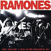 The Ramones: Live January 7, 1978 at the Palladium, NYC