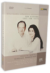 Mozart: Cosi Fan Tutte; Don Giovanni; Cecilia Bartoli, Nikolaus Harnoncourt, Chorus And Orch. Of The
