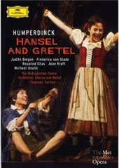 Humperdinck: Hansel And Gretel / Blegen, von Stade, Fulton, MET [DVD]