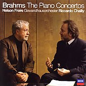 Brahms: The Piano Concertos / Chailly, Freire, Gewandhaus