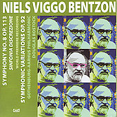 Bentzon: Symphony no 8, Symphonic Variations / Bostock
