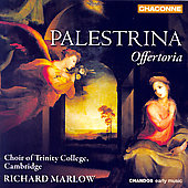 Palestrina: Offertoria / Marlow, et al