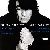 Stravinsky: Apollo, etc / Bashmet, Moscow Soloists