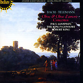 Telemann, Bach: Oboe & Oboe d'Amore Concertos / Paul Goodwin