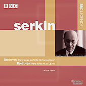 Beethoven: Piano Sonata no 29 and 31 / Rudolf Serkin