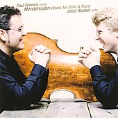 Mendelssohn: Works for Cello & Piano / Julian Steckel, Paul Rivinius
