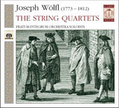 W&ouml;lfl: String Quartets / Pratum Integrum Orchestra soloists