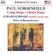 Camp Songs - Ghetto Songs / Schoenfield, Schwarz, et al