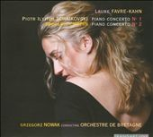 Tchaikovsky and Chopin Piano Concertos / Favre-Kahn