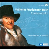 Wilhelm Friedmann Bach: Claviermusik 1