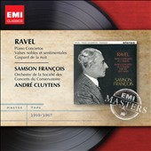Ravel: Piano Concertos, etc / Samson Francois, Andre Cluytens