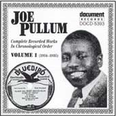 Joe Pullum: Complete Recorded Works, Vol. 1 (1934-35)