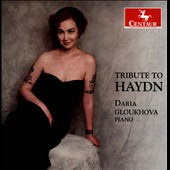 Tribute to Haydn - Piano Sonatas nos 52, 47, 46, 12 / Daria Gloukhova, piano