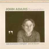 Adams: Harmonielehre / Edo De Waart, San Francisco SO