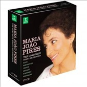 Maria João Pires: The Complete Erato Recordings - Bach, Beethoven, Chopin, Mozart, Schubert, Schumann / Maria João Pires, piano
