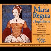 Pacini: Maria Regina d'Inghilterra / Parry, Philharmonia