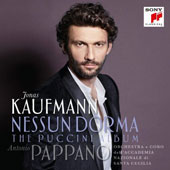 Nessun Dorma: The Puccini Album [Standard Version, CD Only] - Arias from Manon Lescaut, La Boheme, Tosca, Le Villi, Madama Butterfly & more / Jonas Kaufmann, tenor