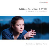 J.S. Bach: Goldberg Variations, BWV 988 / Marie Rosa Günter, piano