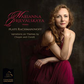 Sergei Rachmaninov (1873-1943): Variations on Themes by Chopin and Corelli / Marianna Prjevalskaya, piano