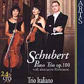 Schubert: Piano Trio no 2 / Trio Italiano