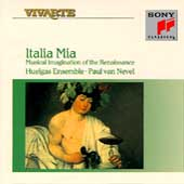 Italia Mia / Paul Van Nevel, Huelgas Ensemble