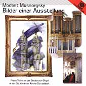 Mussorgsky: Pictures at an Exhibition;  Ives, Elgar / Volke