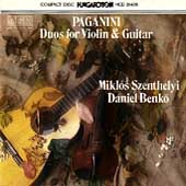 Paganini: Duos for Violin and Guitar / Benko, Szenthelyi