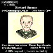 R. Strauss: Der Kr&#228;merspiegel, Cello Sonata / Skram, et al