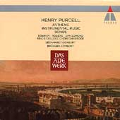 Purcell: Anthems, Songs, etc / Leonhardt, Brüggen