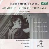 Handel: Admetus, King of Thessaly / Lewis, Lehane, Baker