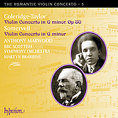 The Romantic Violin Concerto Vol 5 - Coleridge-Taylor, et al